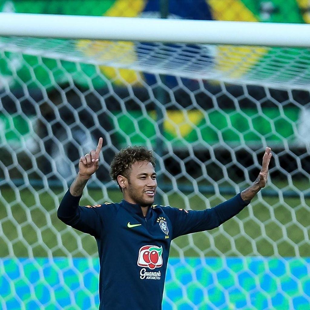 Soal Rumor ke Madrid, Neymar: Omong Kosong