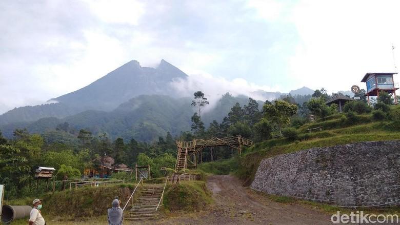 Dampak bubuk vulkanik di Gunung Merapi sudah menurun (Ristu Hanafi/detikTravel)
