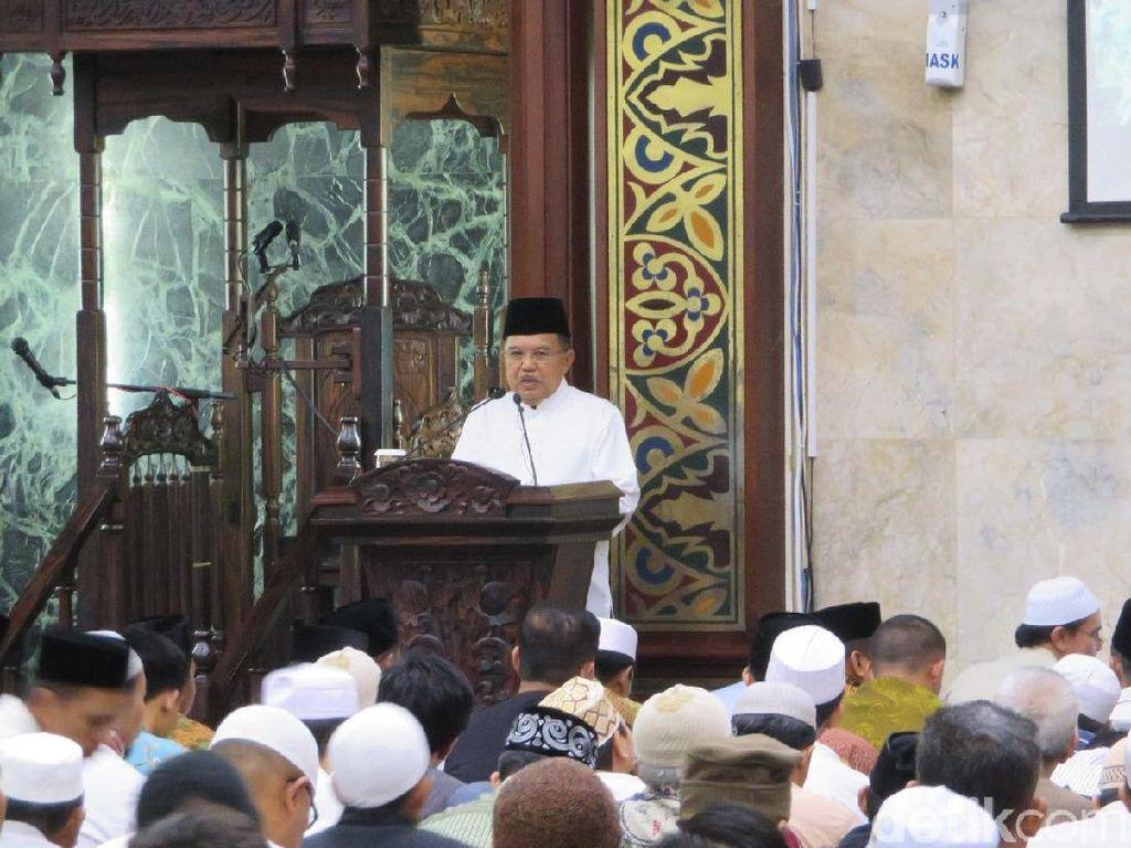 JK: Ada 800.000 Masjid-Musala, Indonesia Butuh 300.000 Dai