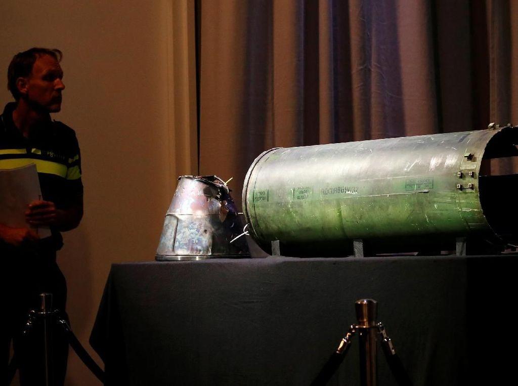 Penampakan Rudal Rusia yang Tembak Jatuh MH17