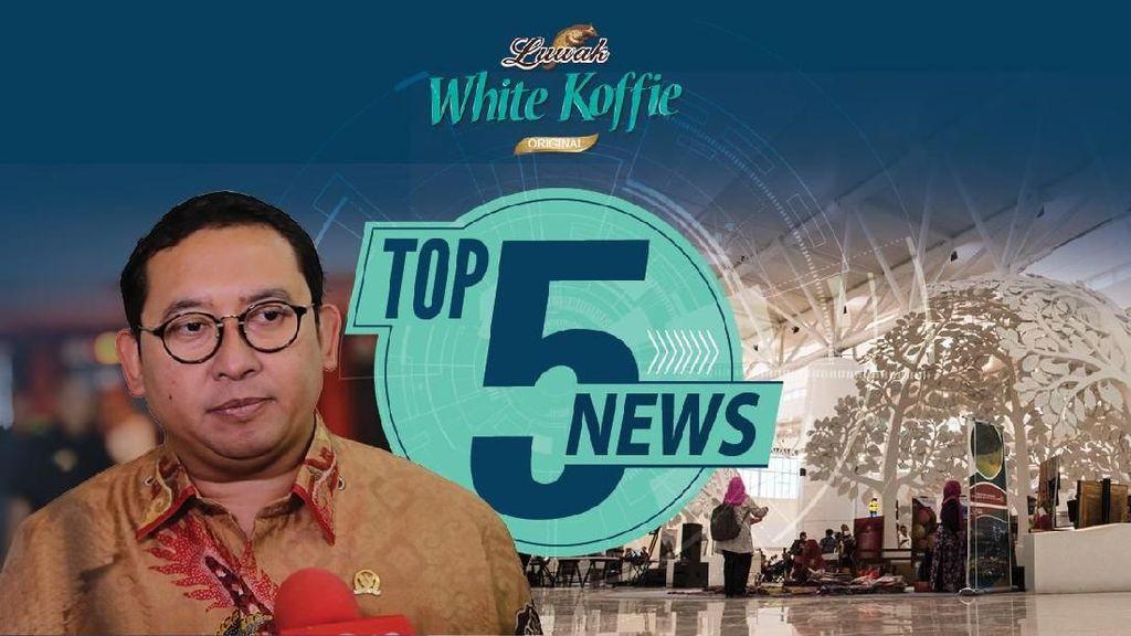 Fadli Zon Diterpa Isu Selingkuh, Pesawat Jokowi Mendarat di Kertajati