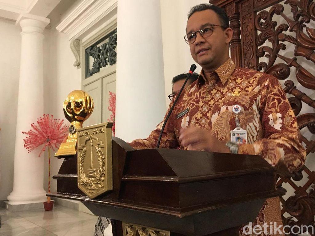 Anies: Jangan Larang Warga Pendatang Adu Nasib di Jakarta