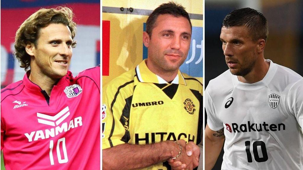 Iniesta dan Para Pemain Top Dunia yang Ramaikan Sepakbola Jepang