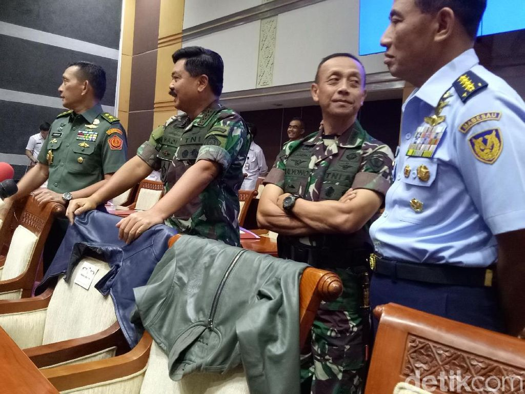 DPR-Panglima TNI Rapat Bahas Pasukan Super Elite TNI Koopssusgab