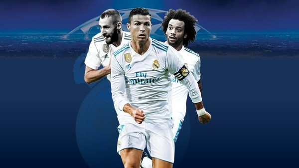 Road to Final Liga Champions 2017/2018: Real Madrid