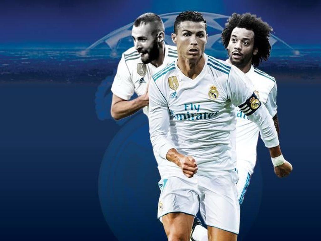 Road to Final Liga Champions 2017/2018: Real Madrid