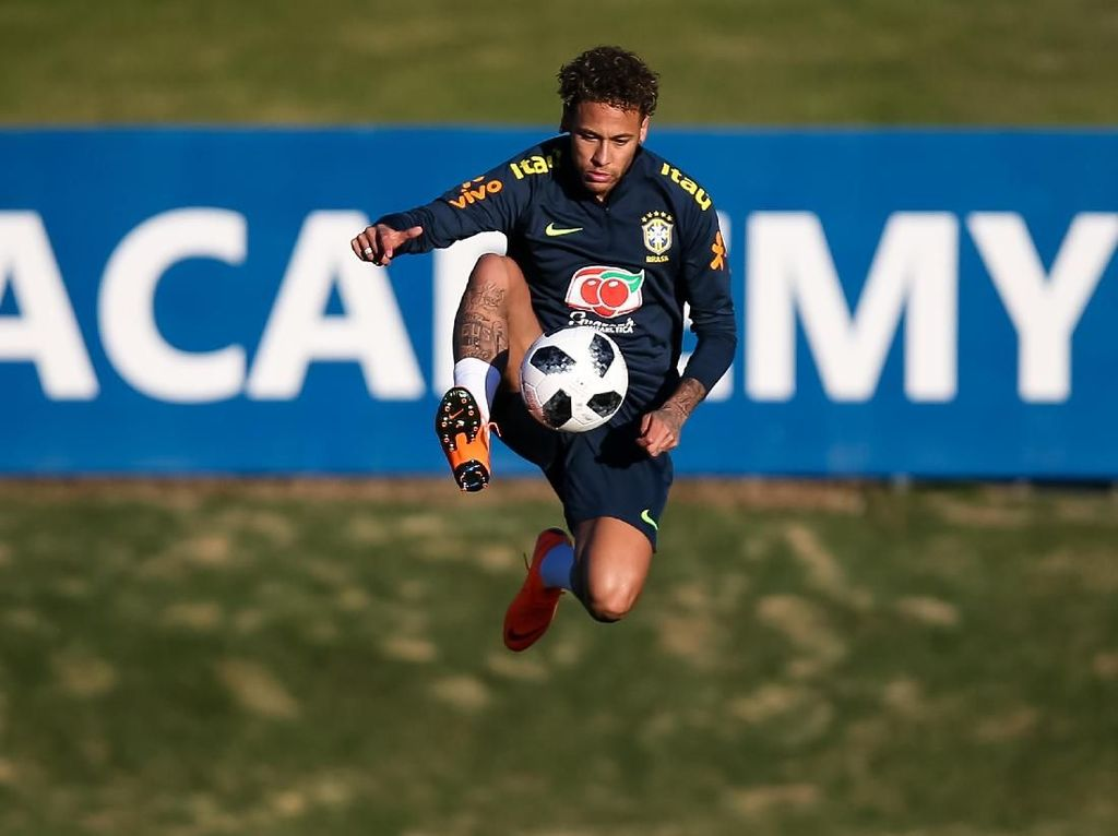 Neymar 'Panaskan Mesin' bersama Timnas Brasil
