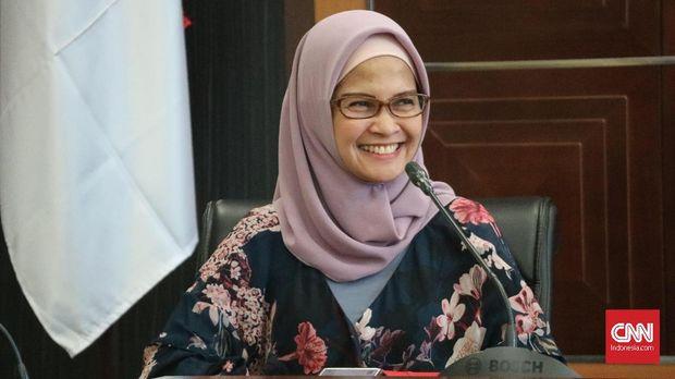 Staf Khusus Kepresidenan bidang Komunikasi Kementerian dan Lembaga Adita Irawati.