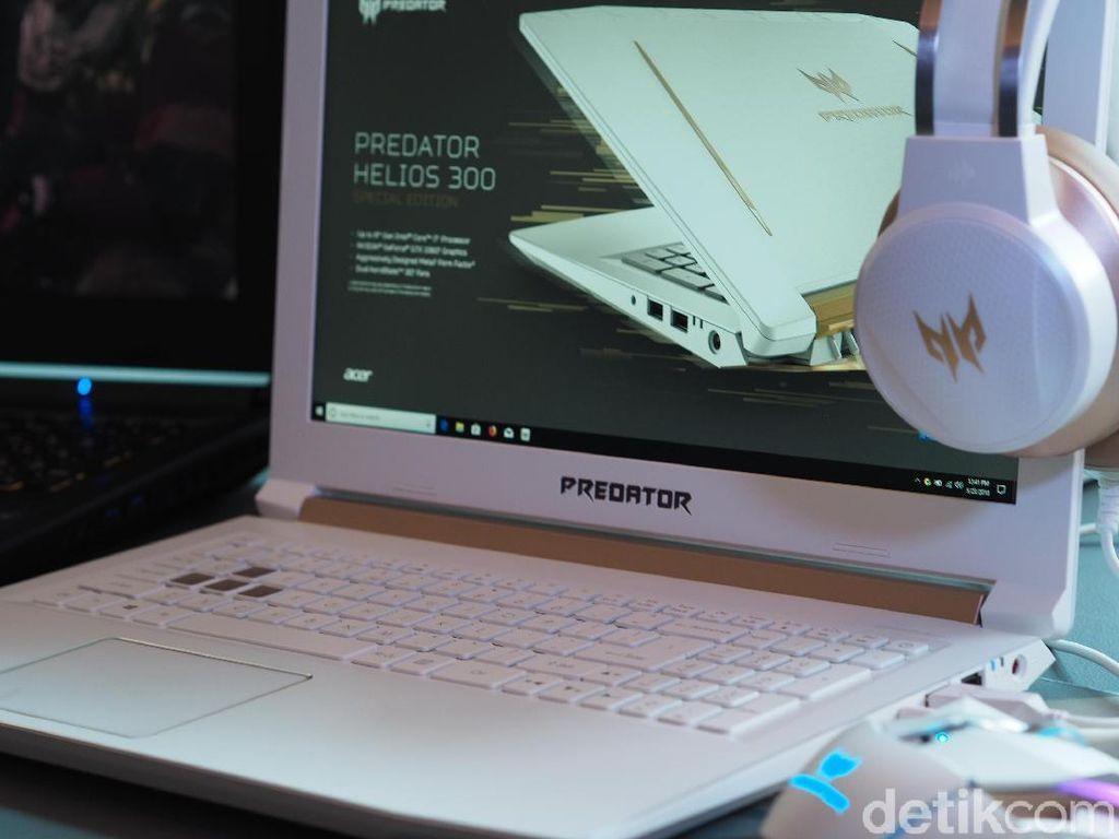 Predator Helios 300 White Edition Mudah Kotor?