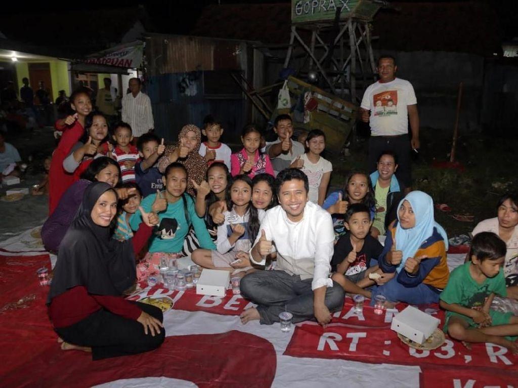 Ditanya Tentang Pendidikan, Emil Sodorkan Tis Tas