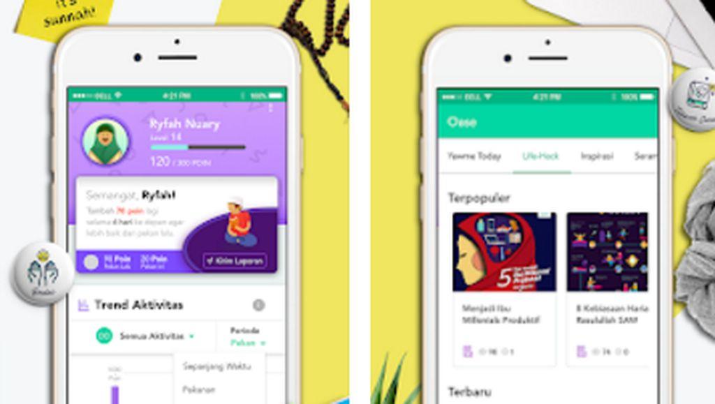 Aplikasi Yawme Ingin Jadi Sobat Hijrah Milenial