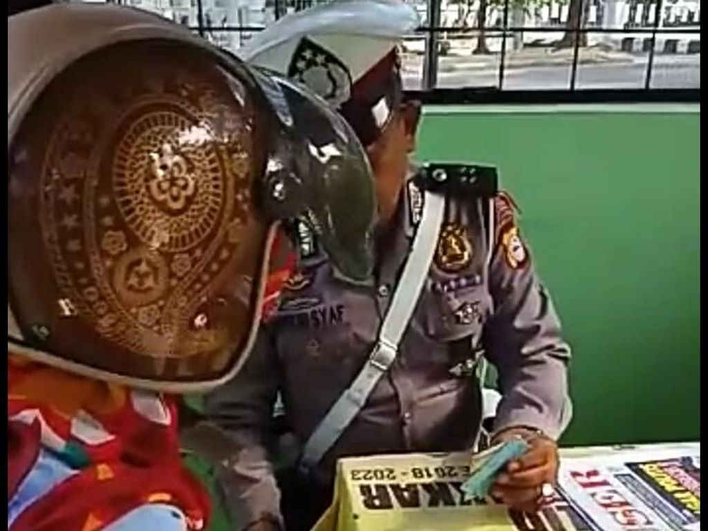 Polda Sulsel Cek Video Viral Oknum Polantas Diduga Pungli
