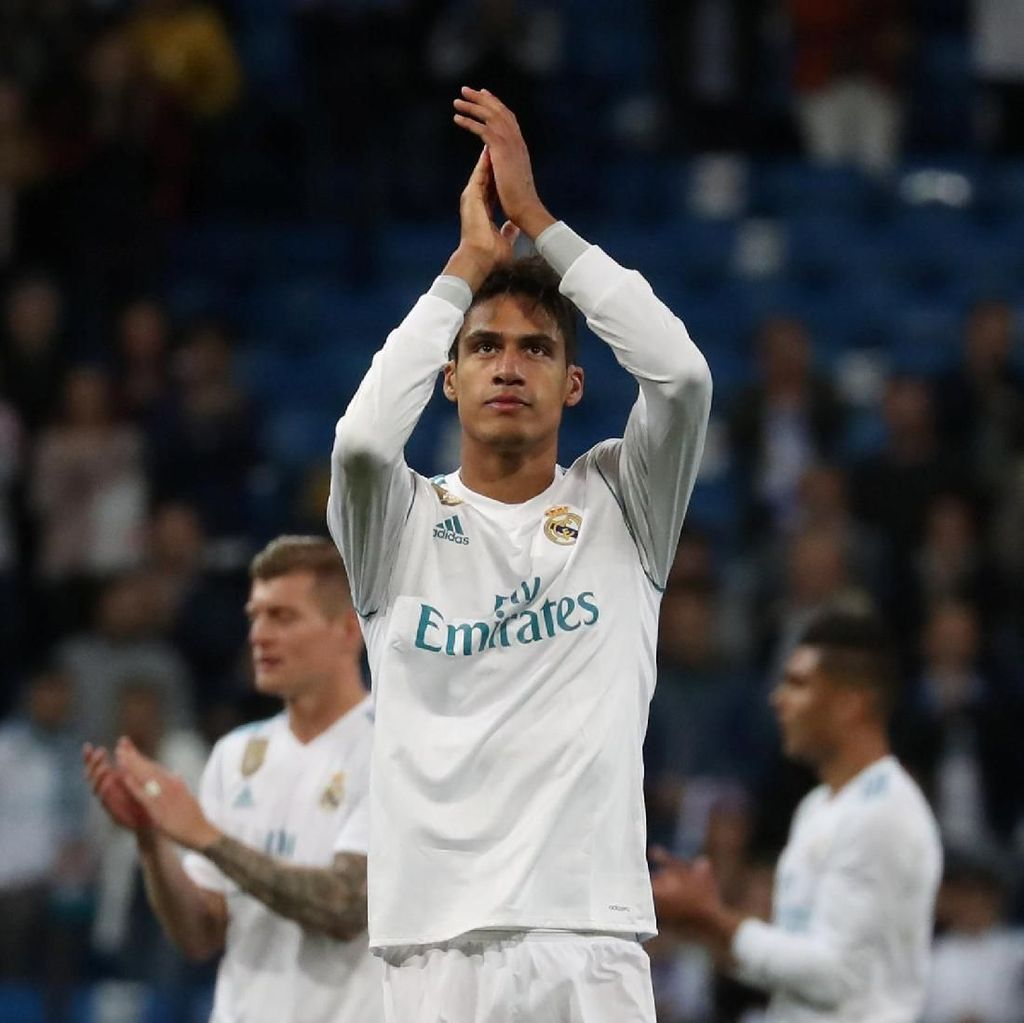 Varane Sebut Madrid Tak Boleh Beri Celah untuk  Liverpool