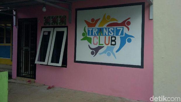 Salah satu sudut kampung PIala Dunia di Palembang