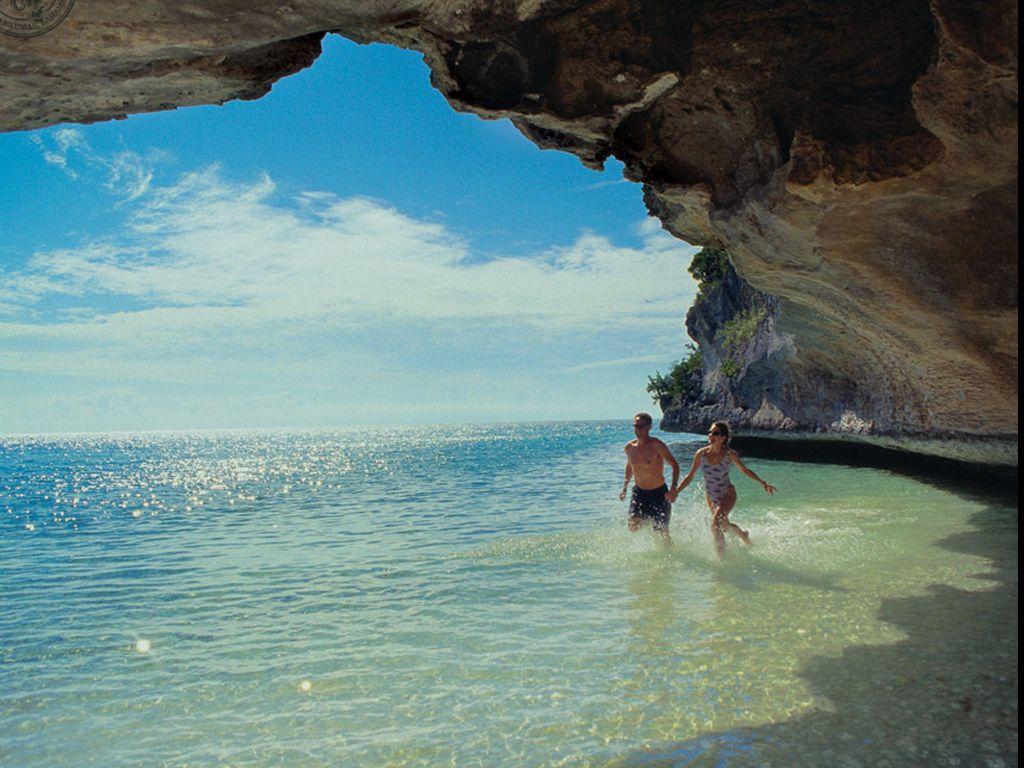 Foto: Pulau Pribadi Milik Pesulap David Copperfield