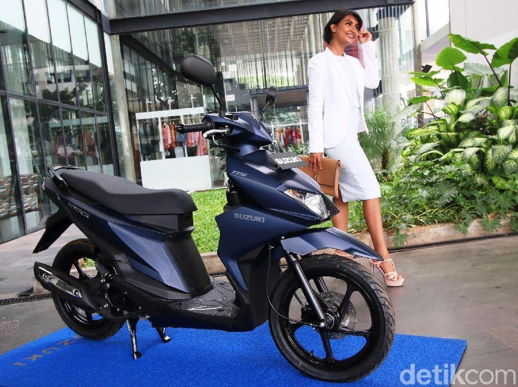 Libur Lebaran Penjualan Motor Suzuki Meningkat