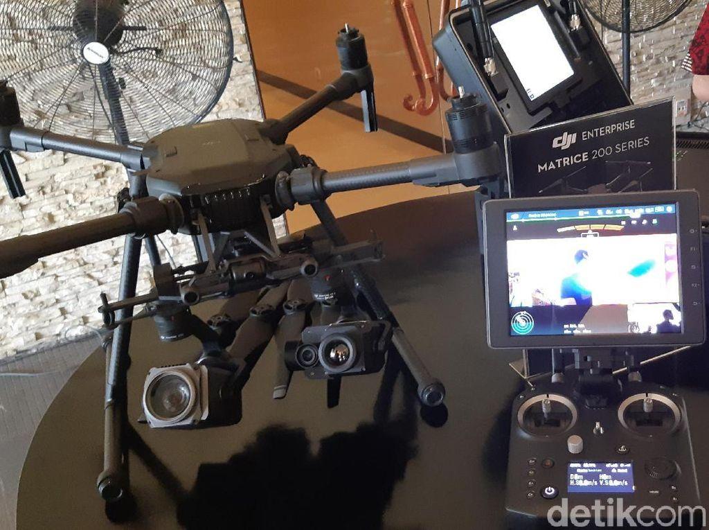 DJI Boyong Kamera Thermal Anyar untuk Drone ke Indonesia
