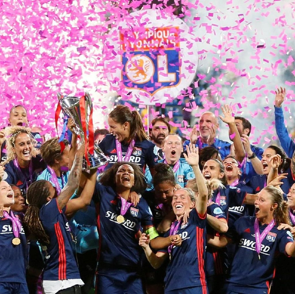 Lyon Hat-trick Juara Liga Champions Wanita