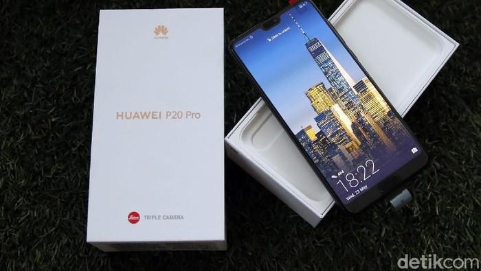 Huawei P20 Pro. Foto: Amanda Rachmadita