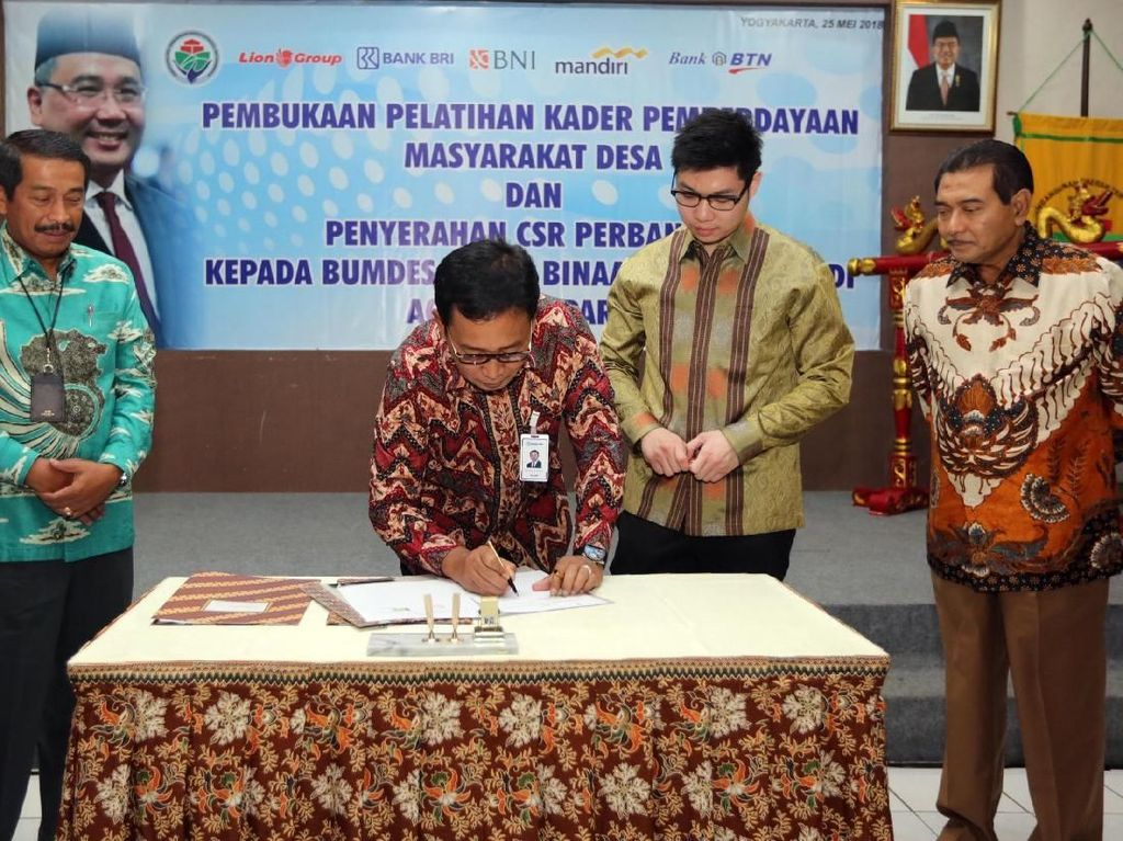 Dorong Bumdes Perluas Usaha di Yogyakarta