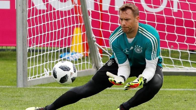 Kalau Dibawa ke Piala Dunia, Neuer Akan Jadi Kiper No. 1 Jerman