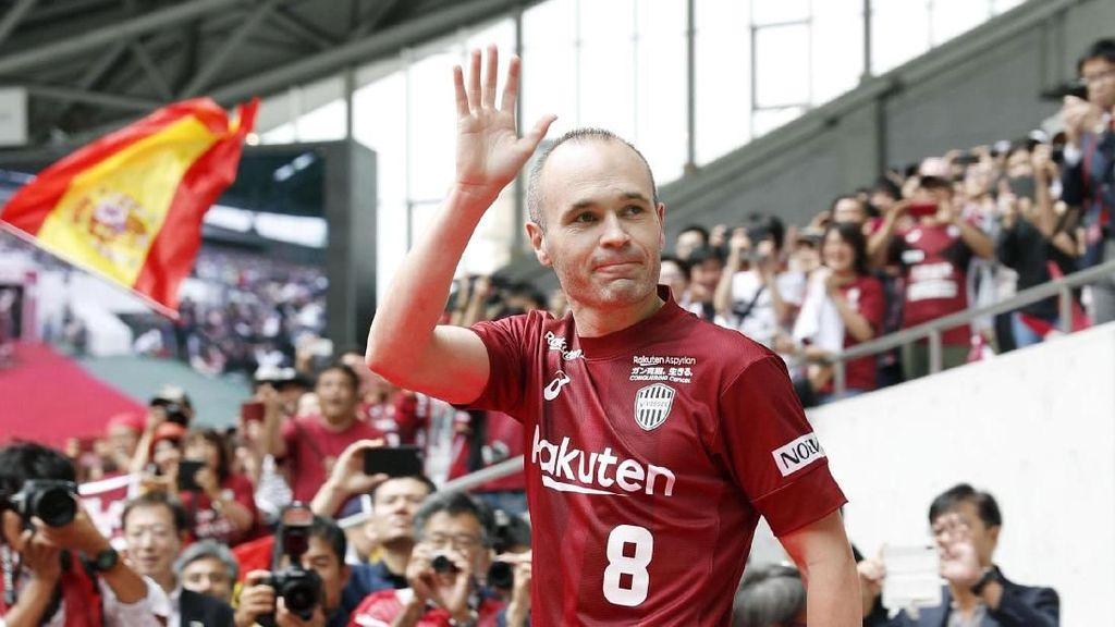 Vissel Kobe Menyambut Andres Iniesta