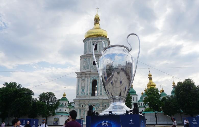Begini Meriahnya Warga Kiev Jelang Final Liga Champion 2018