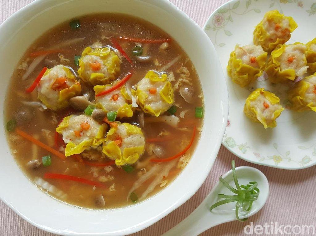 Resep Buka Puasa : Siomay Egg Soup