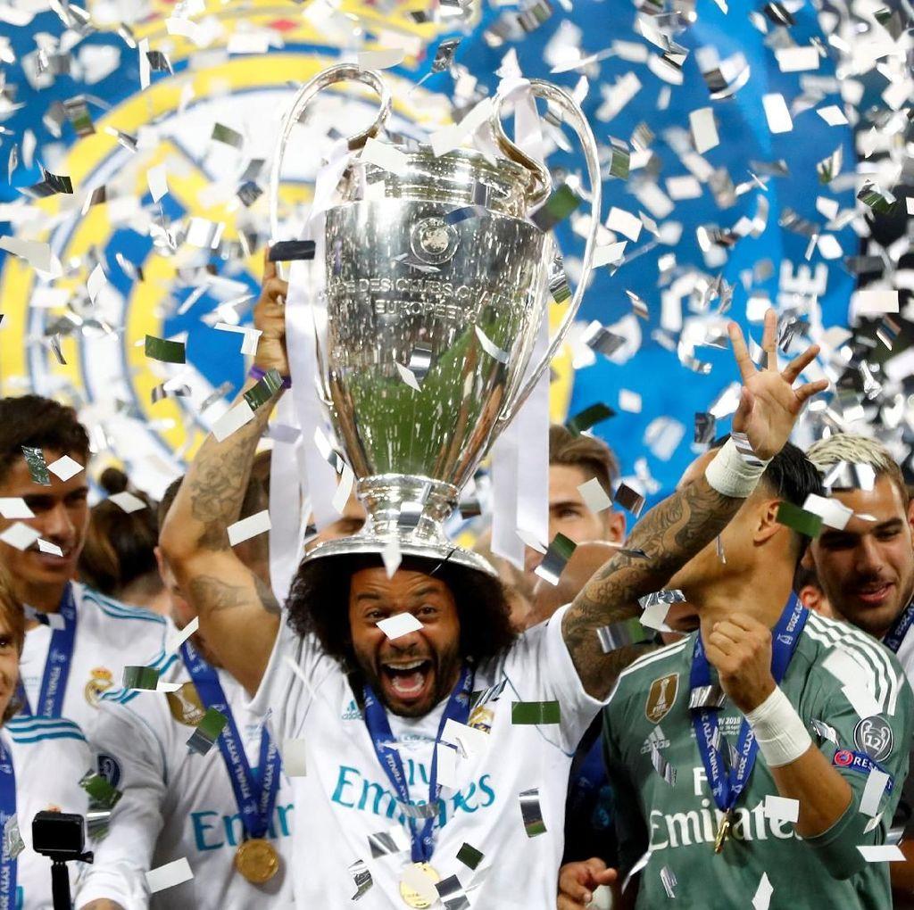 Real Madrid Lanjutkan Dominasi Spanyol atas Inggris di Final Kompetisi Eropa