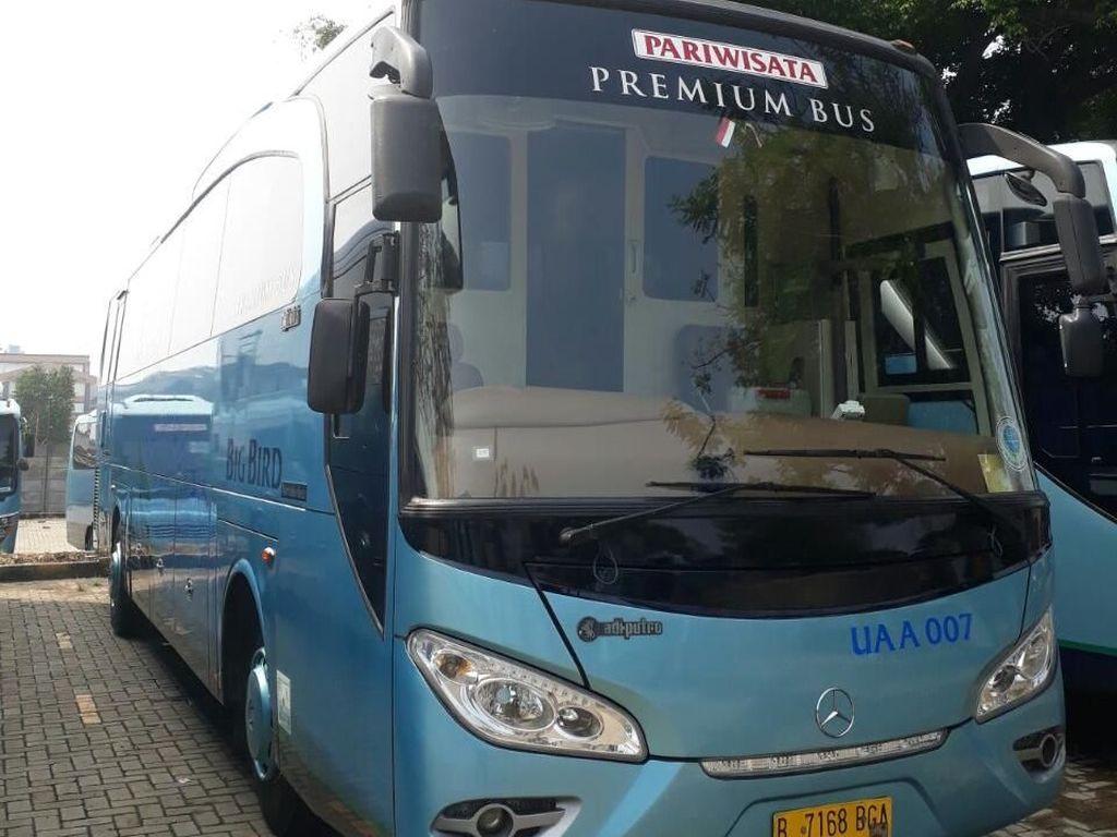 Disiapkan untuk Mudik, Bus Ini Juga Pernah Dijajal Marc Marquez