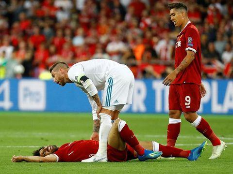Real Madrid vs Liverpool Masih 0-0, Salah Out