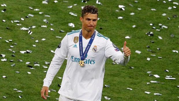 Cristiano Ronaldo telah memenangkan empat trofi Liga Champions bersama Real Madrid.
