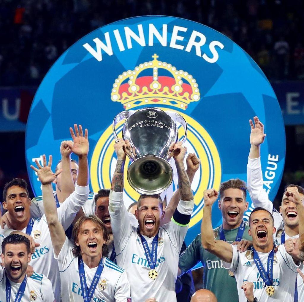 Madrid Akan Arak Trofi Liga Champions di Jalanan Pusat Kota
