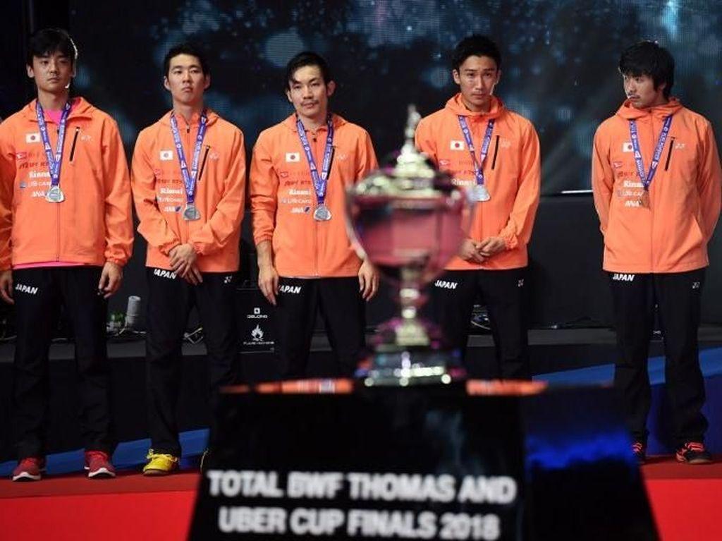 Jadi Runner-up Piala Thomas, Jepang Sudah Maksimal