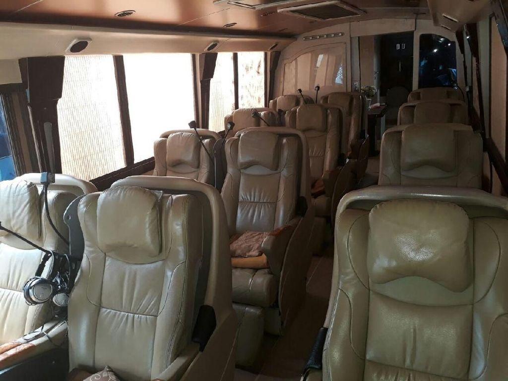 Penampakan Jeroan Bus Mewah untuk Mudik