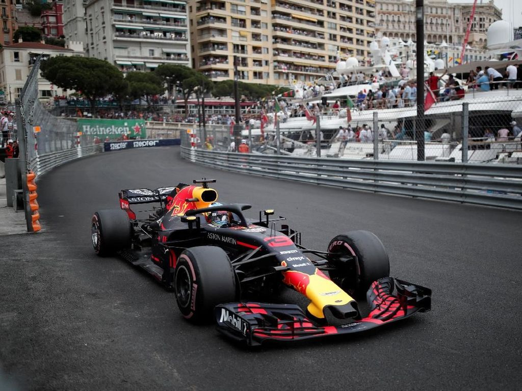 Hasil F1 GP Monako