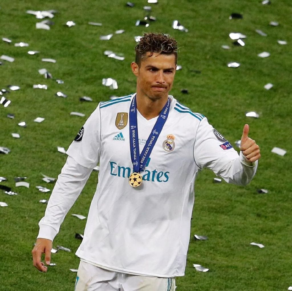 Cristiano Ronaldo Topskorer Liga Champions