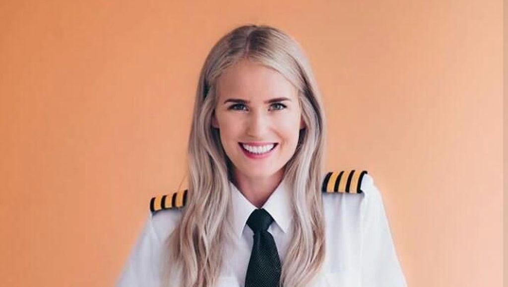 Ini Maria, Pilot Cantik yang Memikat Hati di Darat Ataupun Udara