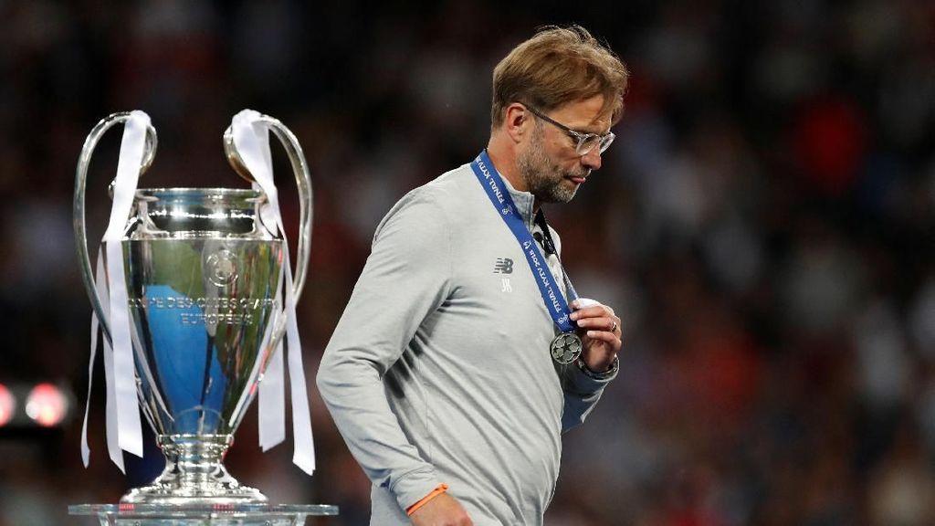 Nyanyian Juergen Klopp Usai Gagal di Final Liga Champions