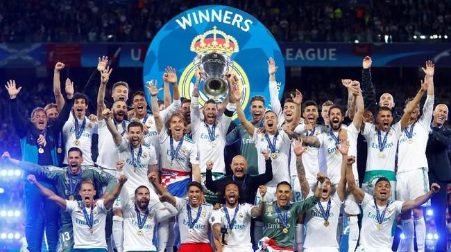 Real Madrid diprediksi akan jadi juara Liga Champions (REUTERS/Kai Pfaffenbach)