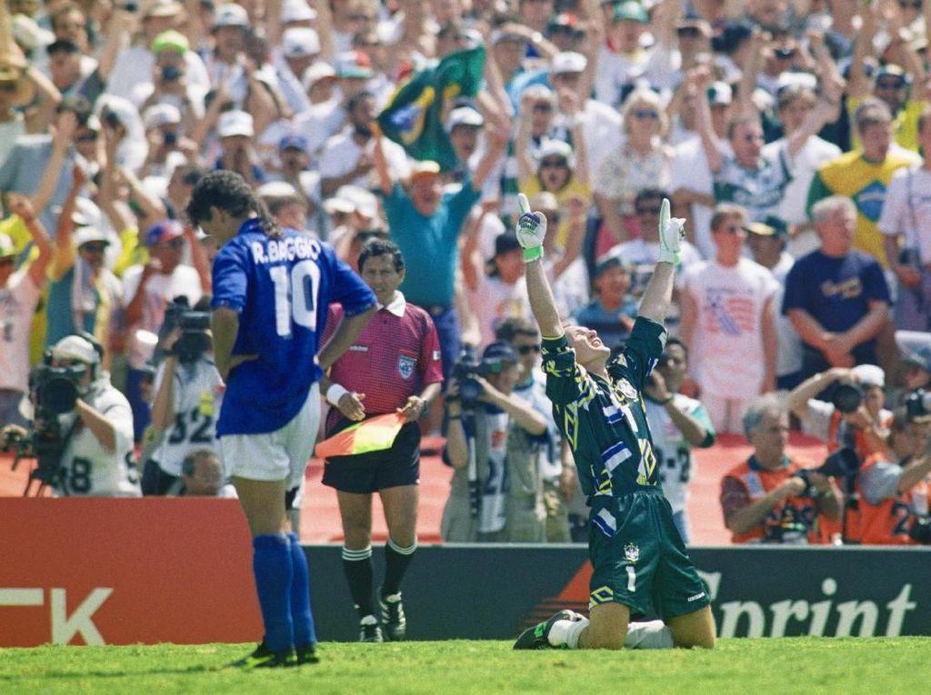 Kisah Sedih Roberto Baggio di Piala Dunia 1994