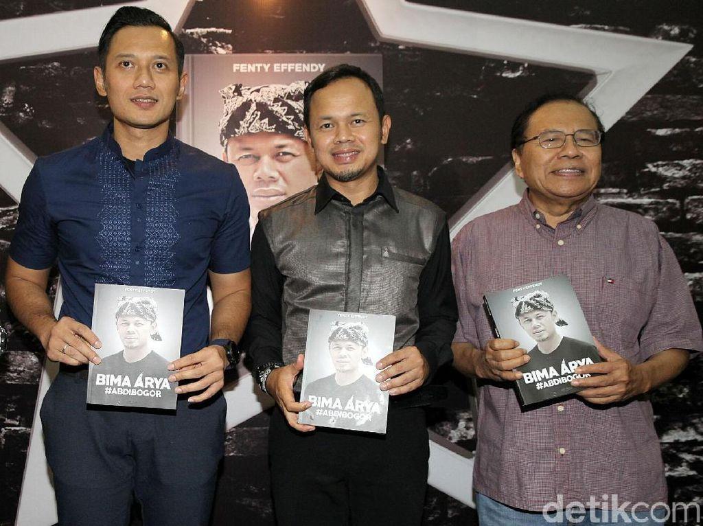 AHY hingga Rizal Ramli Hadiri Peluncuran Buku Bima Arya