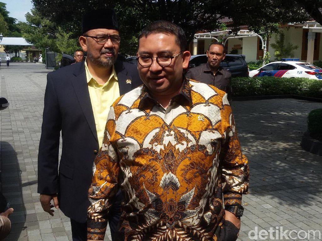 Fadli Zon Merapat ke Kediaman Prabowo di Kertanegara