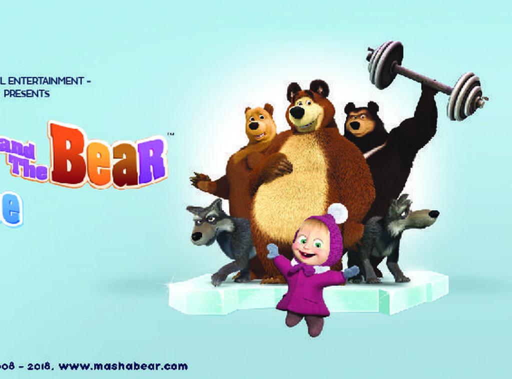 Masha and the Bear on Ice Ditunda hingga Agustus
