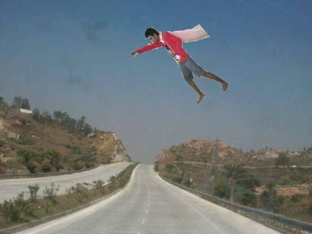 Photoshop Gagal Total nan Kocak Buatan Orang India