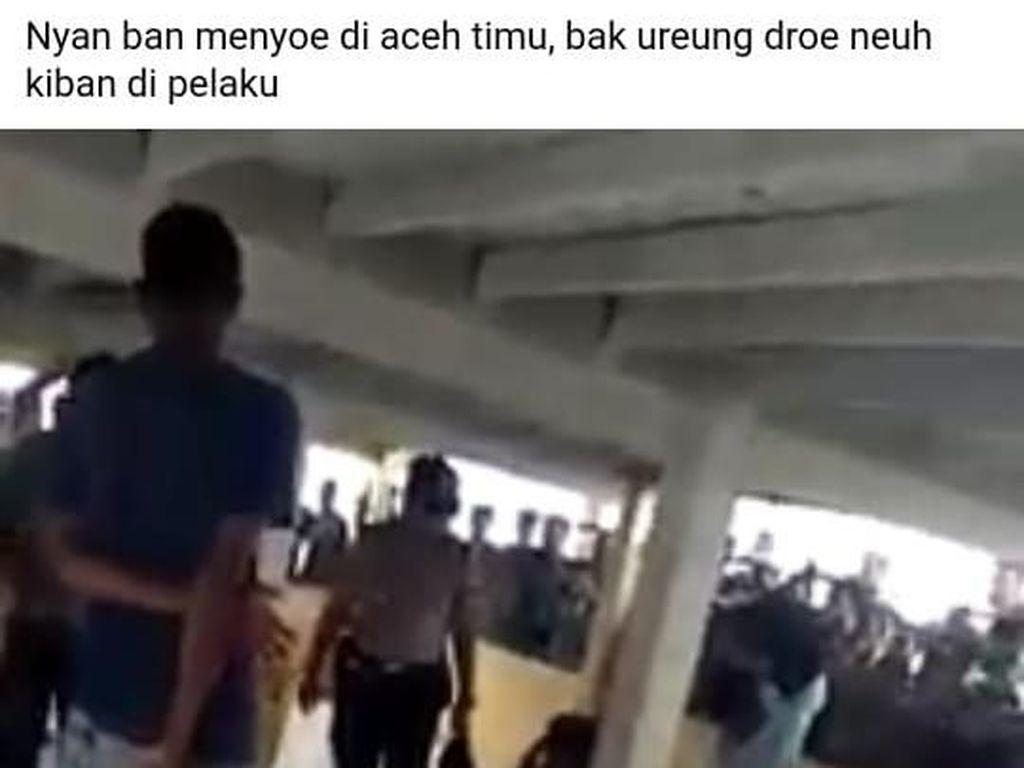 Terungkap! Ini Alasan Kapolsek di Aceh Pukul Anggotanya