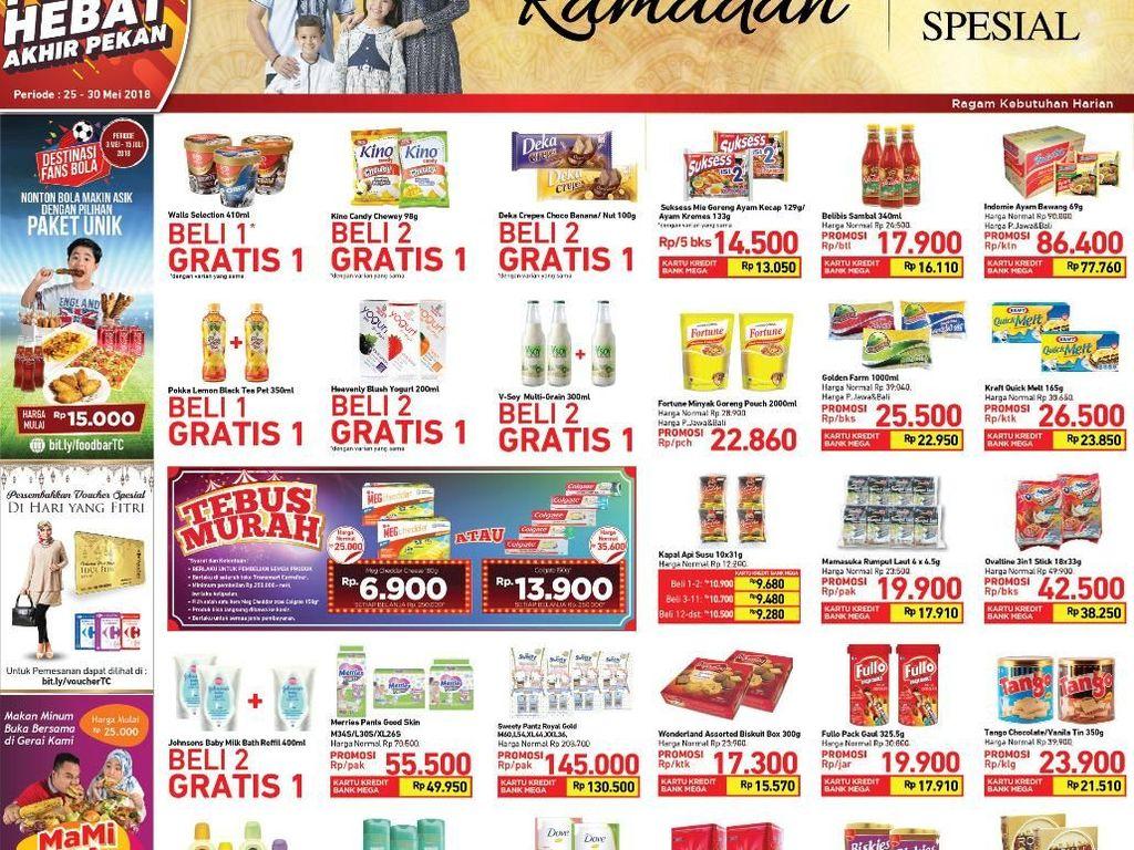 Kabar Gembira! Promo Makanan di Transmart Carrefour Diperpanjang