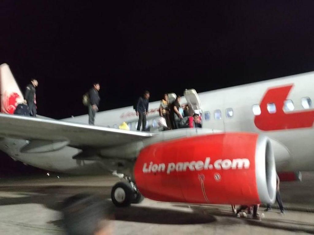 Panik Loncat karena Ancaman Bom, Sejumlah Penumpang Lion Air Luka