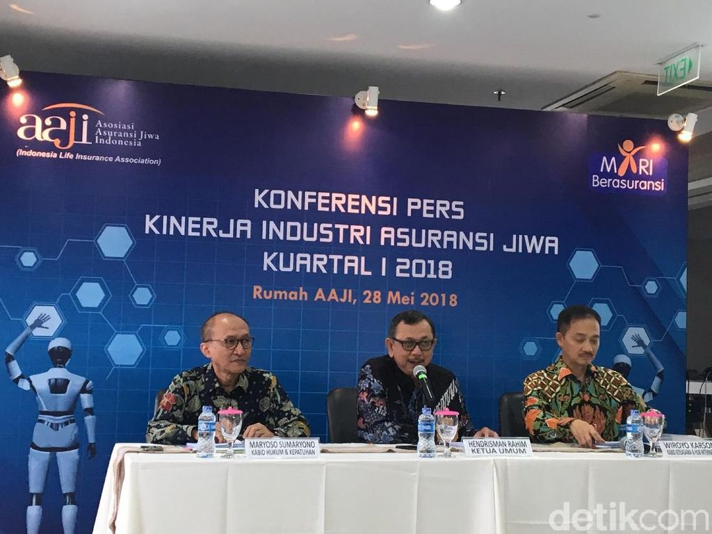 Premi Asuransi Jiwa Capai Rp 52 T di Kuartal I-2018
