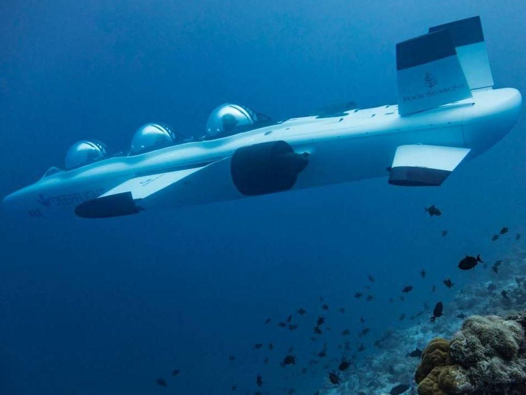 Foto: Kapal Selam Eksklusif di Maldives